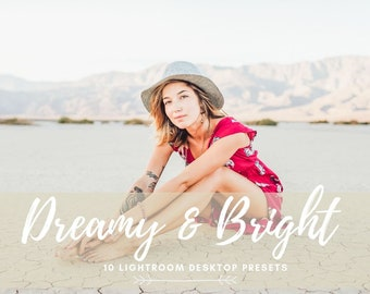 10 Lightroom Dreamy and Bright Desktop Presets, Bright & Airy Presets, Lifestyle Photography, Portrait, Wedding, Couple, Dreamy Outdoor