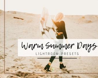 12 Lightroom Warm Summer Days Desktop Presets, Honey Presets, Golden Tone, Lifestyle Photography, Portrait, Wedding, Couple, Dreamy Outdoor