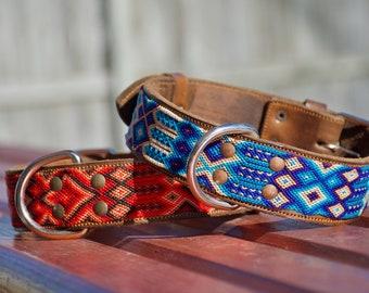 XLXXL Mexican Dog Collar Handmade by Artisans