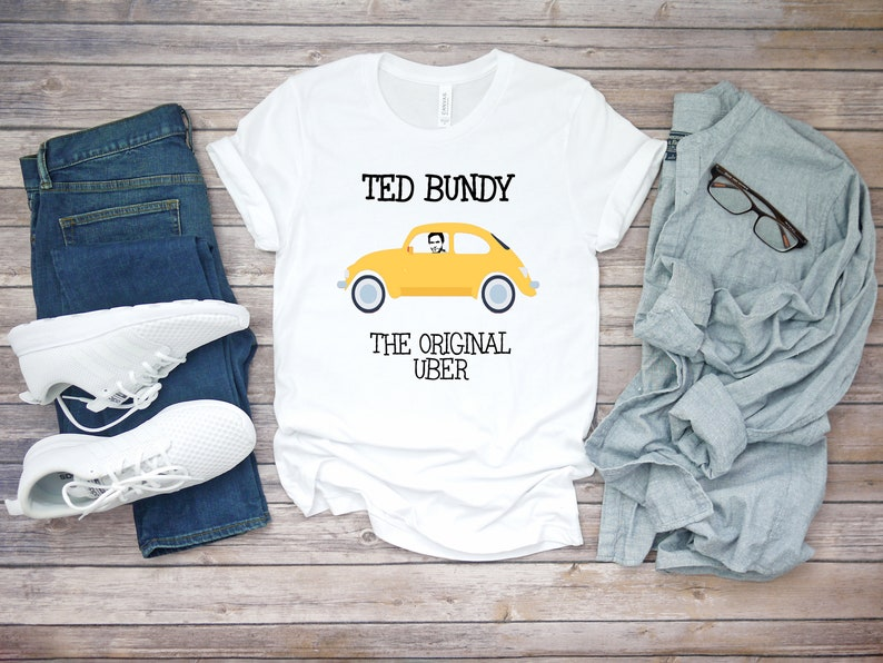 True Crime Ted Bundy Unisex Short Sleeve T Shirt Top True image 0