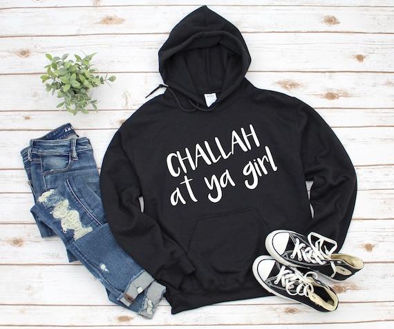 TEEPOMY Hanukkah Challah at Ya Girl Matching Unisex Hoodie