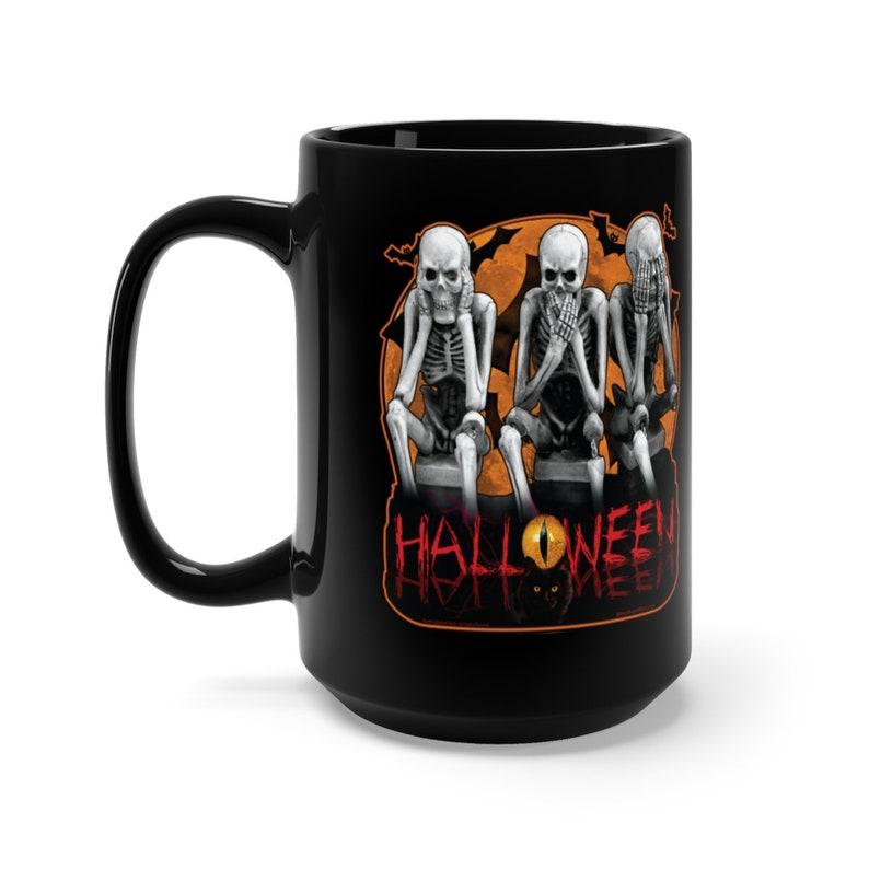 Creepy Custom Halloween Skeletons 3 Full-Wrap image 0