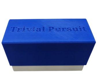 Trivial Pursuit Card Storage Box (3D Printed)