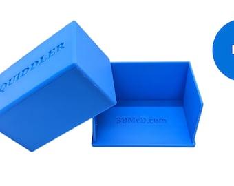 Quiddler Card Game Storage Case/Box (3D Printed)