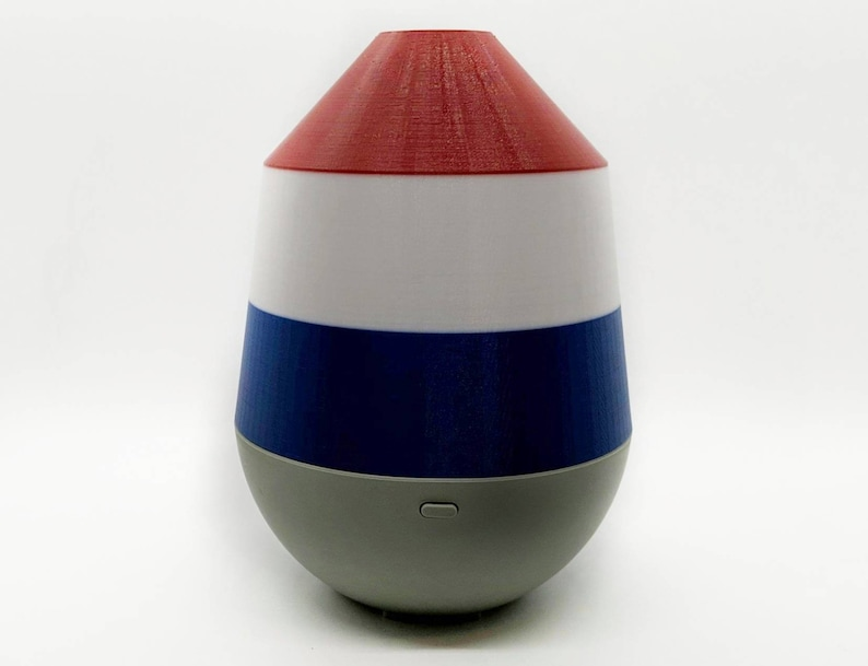 Red White and Blue Cover for Young Living Dewdrop Diffuser image 0