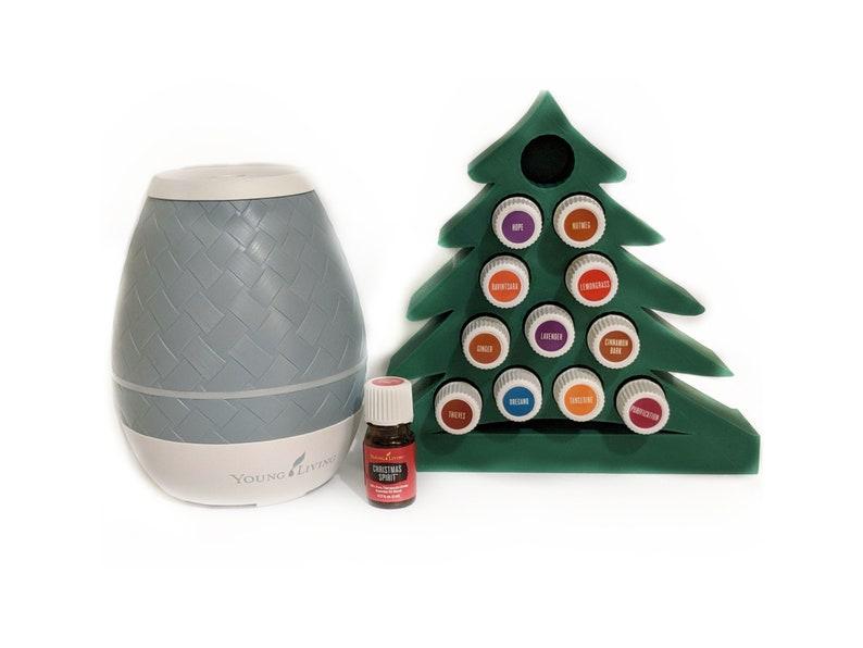 Christmas Tree Essential Oil Display Rack image 0