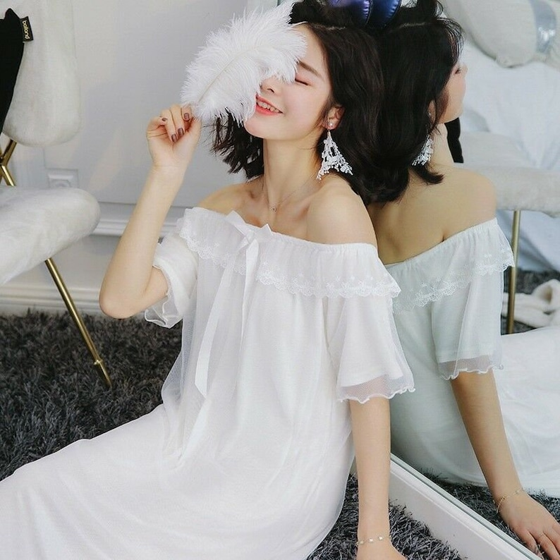 French Princess Night Gown
