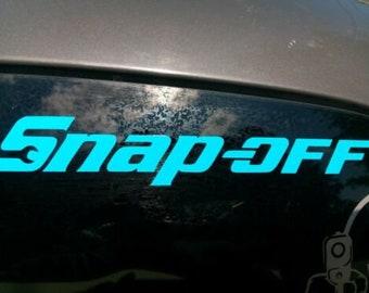 Strip-all decal sticker Snap-on tools tool box technician mechanic joke spooff