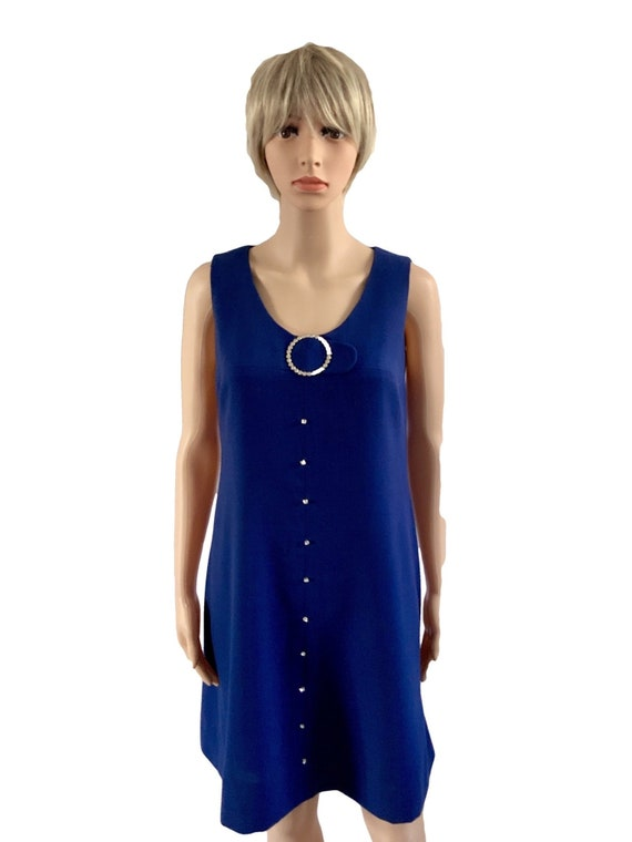 60s Mod Dress. 60s Dress. 60s Mod. Pinafore Dress.