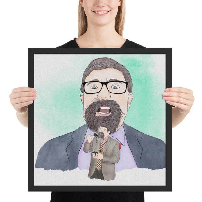 James Adomian as GORKA Framed Poster