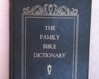 Bible dictionary | Etsy