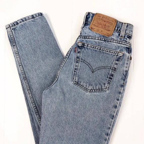 "1990's Levi's 512 jeans // 27""-28"" waist"