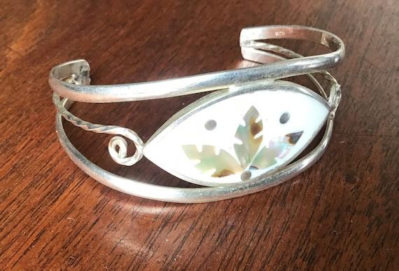 Vintage ALPACCA Silver Male Bracelet.