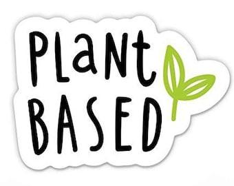 #Vegan VEGAN  DECAL LOGO FOR CAR//VAN//LAPTOP VINYL STICKER PLANT BASED CLEAN EAT