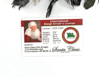 Popular ** Santa ID Set of 10 Unisub License Blank** Hot Item!!!!