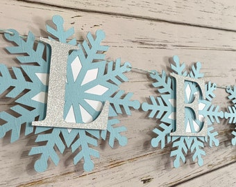 Let it Snow Banner-Christmas Banner-Wintertime Banner-Holidays Banner-Snow Days Banner-Let It Snow Garland-Let It Snow Sign-White Christmas