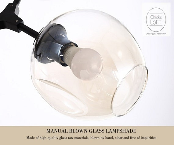 All the replacement globes for your Chandelier Home Improvement High Quality Hand Made Material New Modern Decor Design Lighting Chandeliers