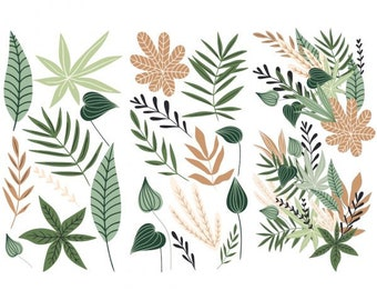 Decor Transfer Greenery House, ReDesign with Prima, Rub On Furniture Transfer, Plants, Embellishments, DIY, Free Shipping, Florals