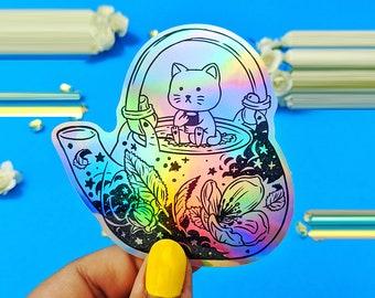 Kittea Holographic sticker
