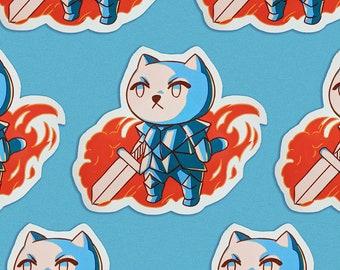 Catvalier sticker