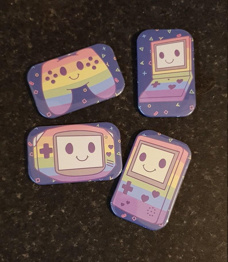 adorable pride magnets Gaymer Fridge Magnets fridge Kawaii Rainbow