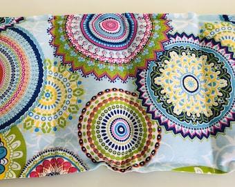 Cherry Seed Pillow Mandala Blue 6 Chambers