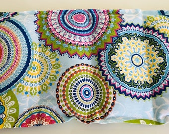 Spelt Pillow Biodinkel Mandala Blue 6 Chambers
