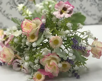 Bouquet silk bouquet 20 cm