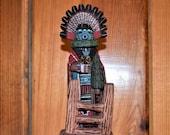 Traditional Hopi Morning Singer (Talavai) Katsina Made by Brian Smith