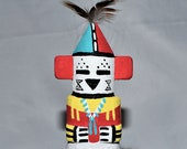 Collectible Route 66 Hopi Thunder Kachina by Grace Pooley