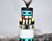 Collectible Route 66 Hopi Longhair Kachina by Grace Pooley