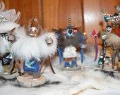 4 Inch Navajo Kachina Mystery Box Collection Bundle