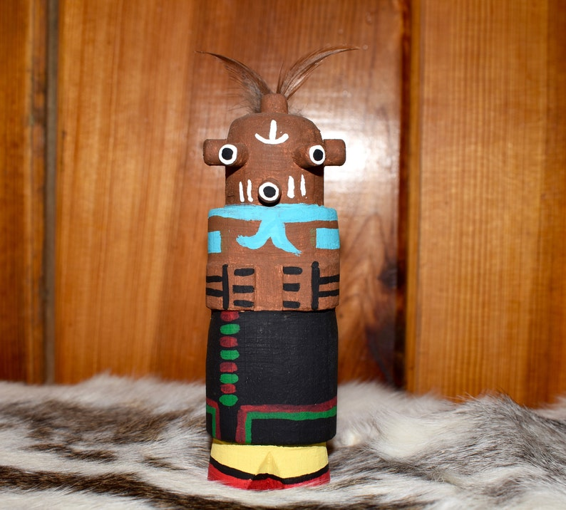 Collectible Route 66 Hopi Mudhead by Grace Pooley