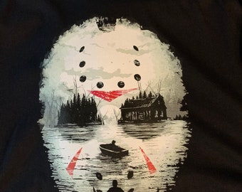 Halloween T shirt unisex black Bell Canvas