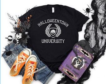 Halloweentown University Adult, Unisex, Bella+Canvas, T Shirt, Fall clothing