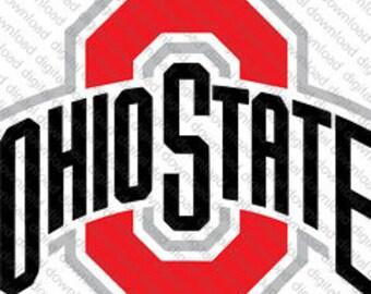 State Of Ohio Iron Etsy