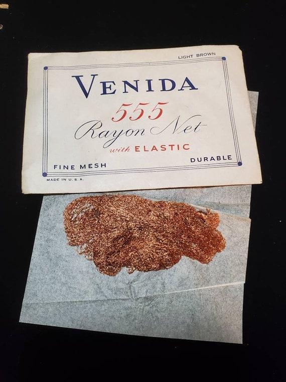 Hair Net Venida 555 Rayon Net Vintage Rare
