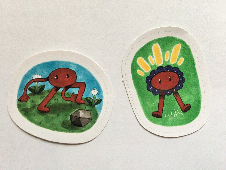 PikuNiku Vinyl Sticker Pack