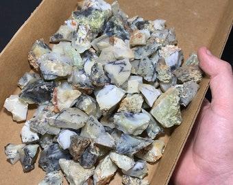 California Dendritic Opal Chunks 2lb (Larger Pieces)