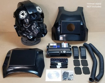 Star Wars Tie Fighter Pilot Inspired Replica Costume Armor Kit / Prop.