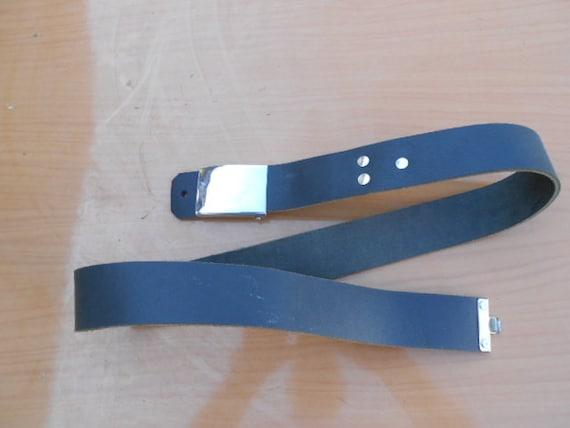Antique military belt