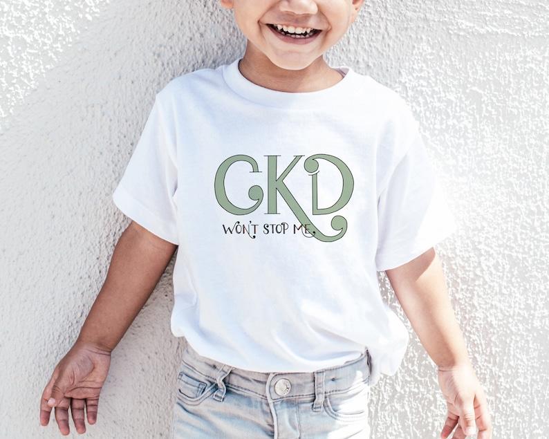 Kidney Transplant Warrior One Kidney Toddler Shirt Kidney Anatomy Shirt LEFT Kidney CKD Won/'t Stop Me Toddler Tee