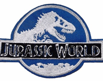 """Jurassic World International Genetics Incorporated 4/"""" Embroidered Patch"""