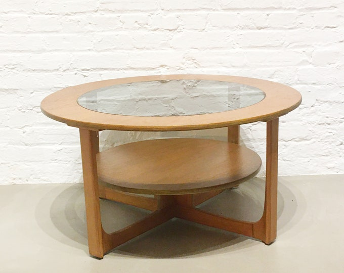 Mid-century circular table