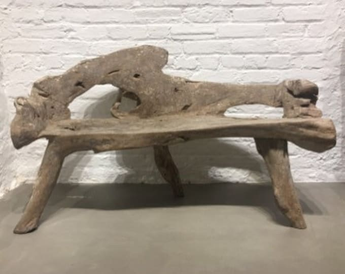 Ash wood bench