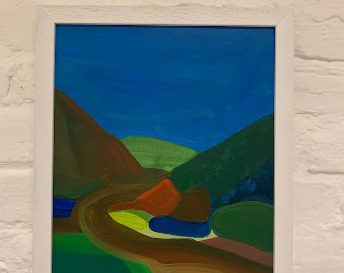 Welsh Hills #4 Painting