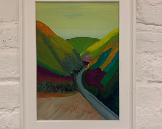 Welsh Hills #3 Oil Painting