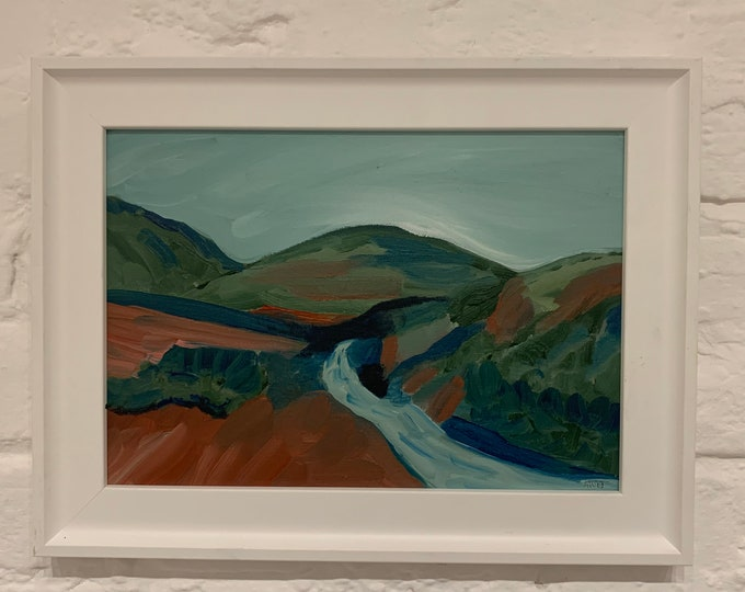 Welsh Hills #2 Oil Painting