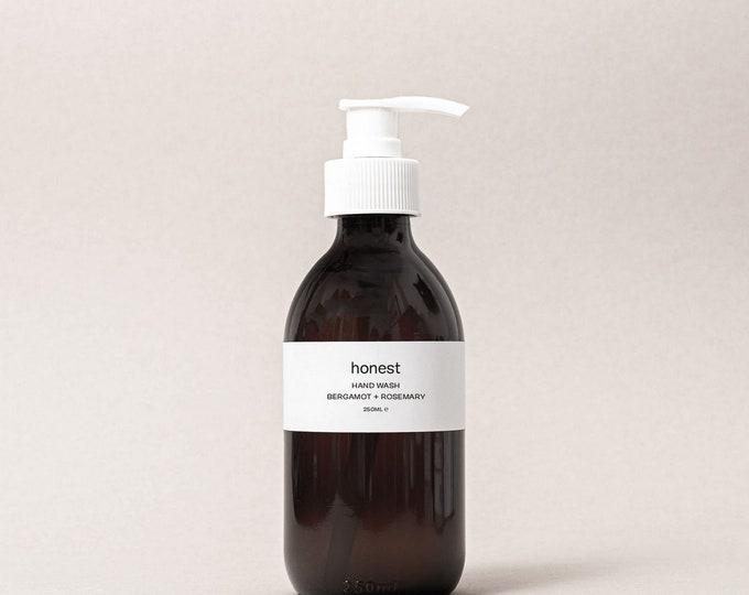 Bergamot + Rosemary Hand Wash