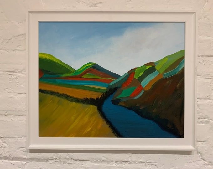 Welsh Hills #9 Painting